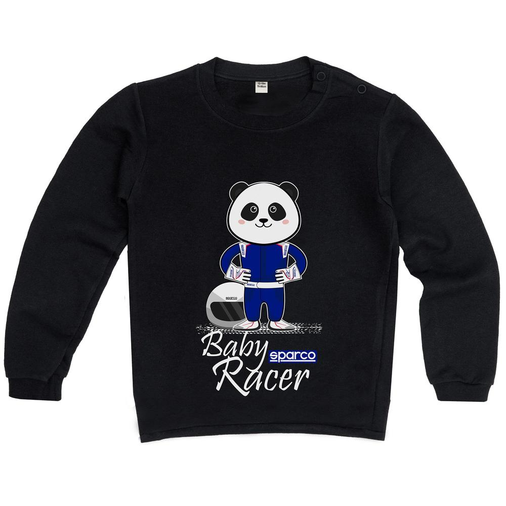 017016 Sparco Baby Racer Sweatshirt Kids Jumper Pullover for Ages 6-24 Months