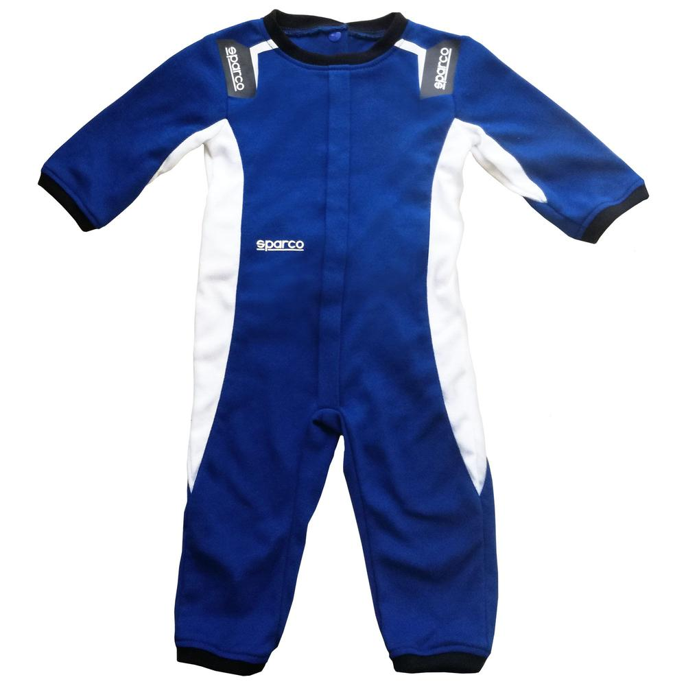 017018 Sparco Baby Sleep Suit Race Overalls Cotton Pyjama's for Age 3-18 Months