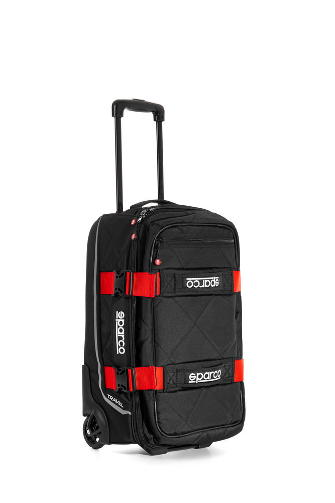 016438 Sparco TRAVEL Soft Cabin 48L Trolley Kitbag for Race Motorsport Racewear