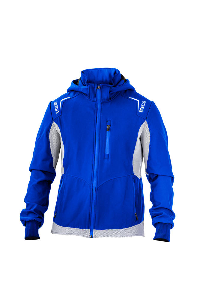 01253 Sparco TOP-TECH Softshell Jacket Coat Water Resistant & 3D Breathable