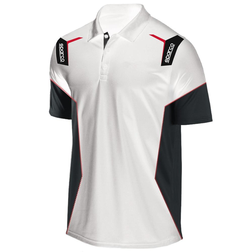 01265 Sparco SKID Racing Polo Shirt Motorsport in 100% Polyester - New for 2020!