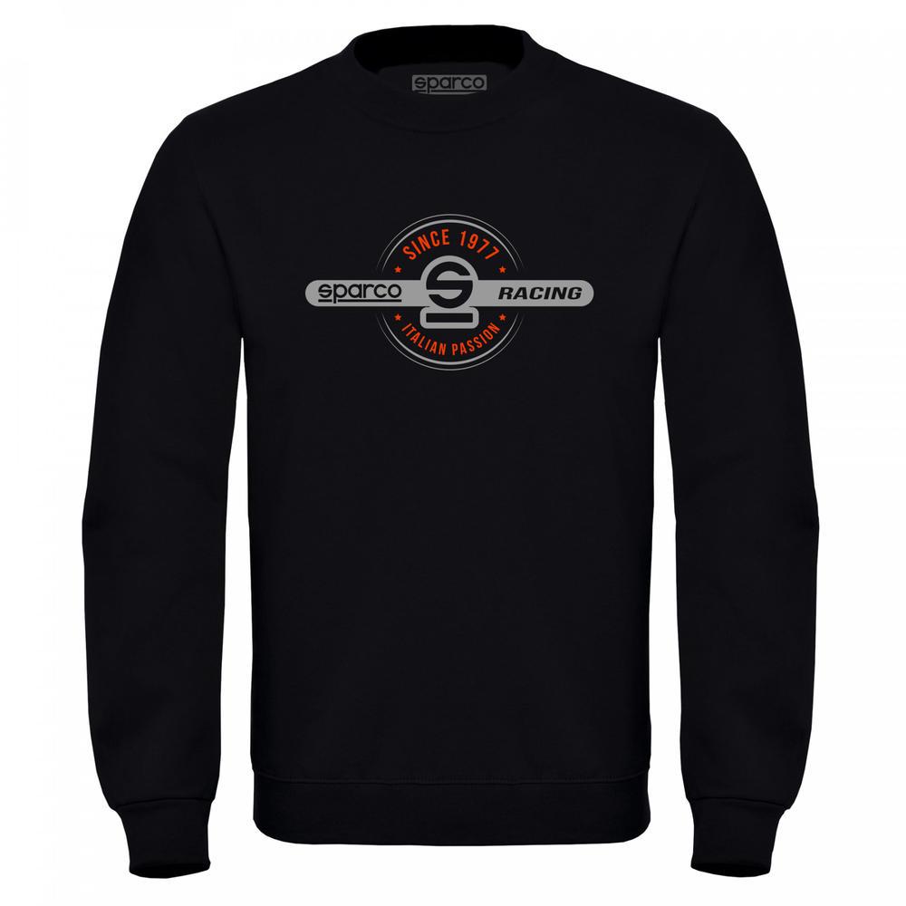 01271 Sparco Racing Sweatshirt Round-Neck Jumper Fanwear Teamwear Sizes S-XXL