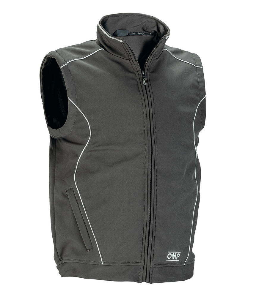 OR5913 OMP Racing Softshell Sports Gilet Windproof Breathable Body Warmer