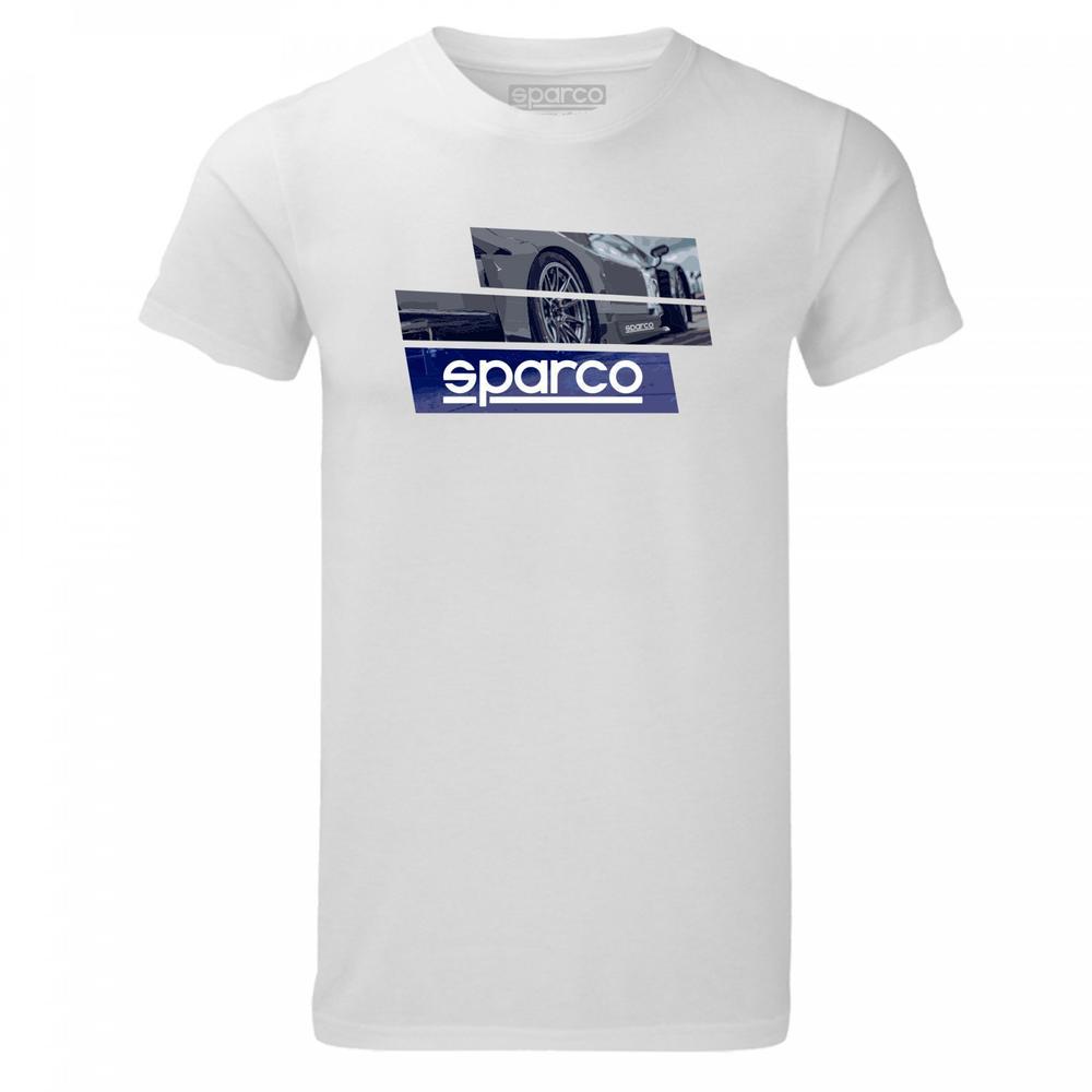 01262 Sparco T-Shirt TRACK Inspired Tee Design Fanwear Teamwear in 100% Cotton