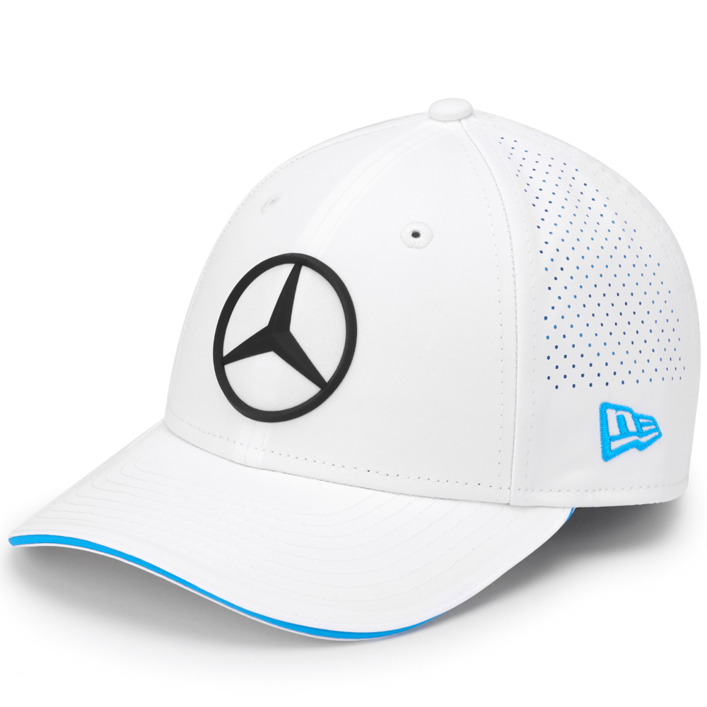 2020 Mercedes-Benz Formula E Team White 9Forty Baseball Cap Kids One Size