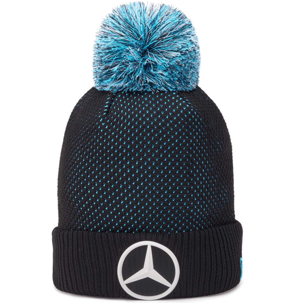 2020 Mercedes-Benz Formula E Team Blue 9Forty Knit Beanie Hat Adult One Size