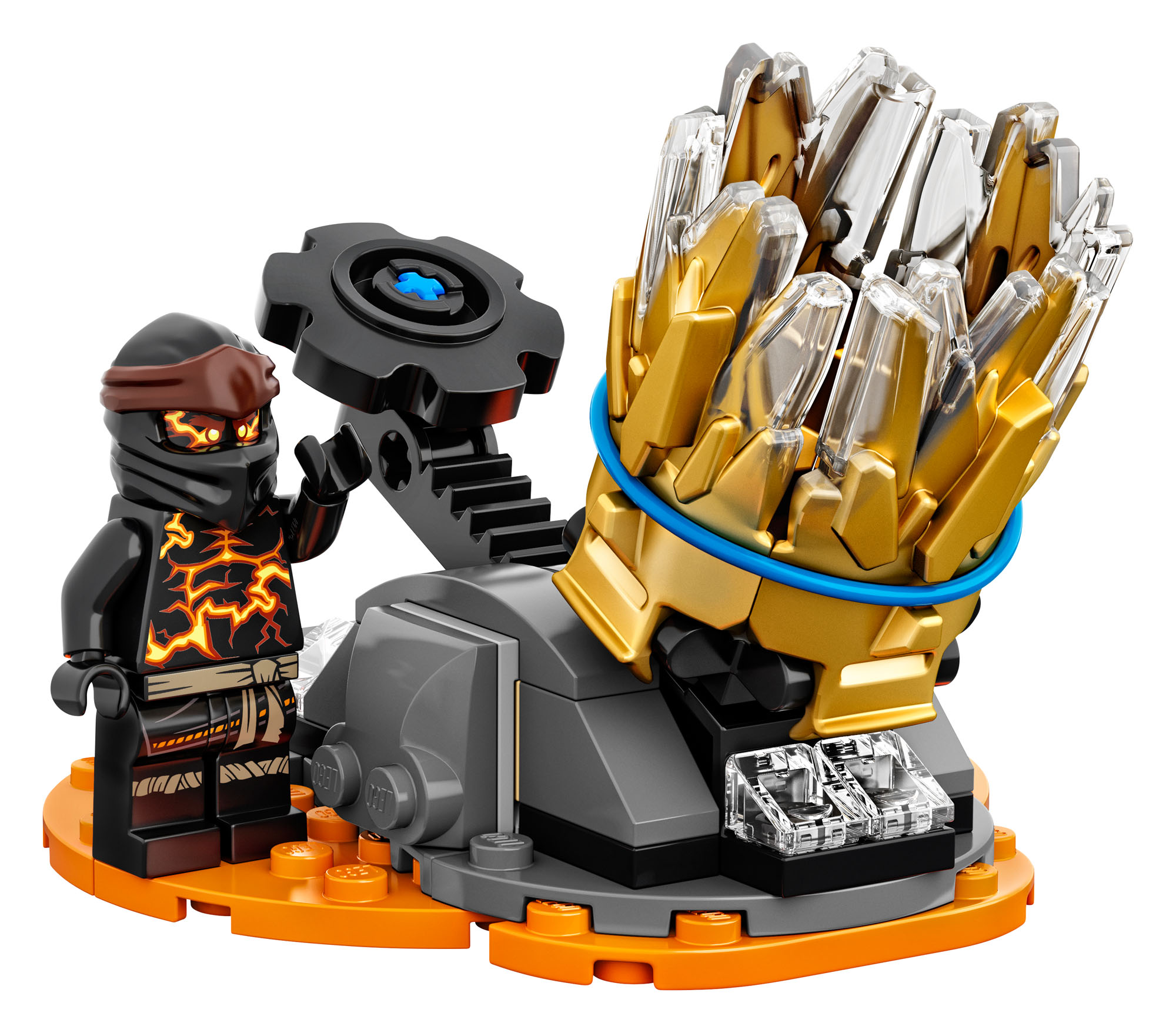 70685 LEGO Ninjago Spinjitzu Burst - Cole Accessory Ninja ...