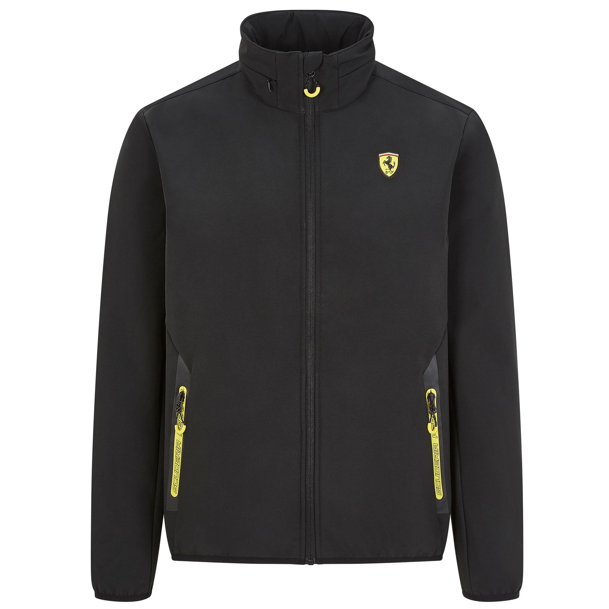 New 2020 Scuderia Ferrari F1 Mens Jacket Hoodie Gilet Softshell Official Fanwear | eBay