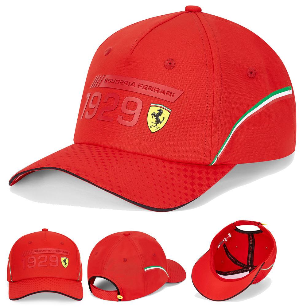 2020 Scuderia Ferrari F1 Fanwear Red Graphic Baseball Cap Adult Size Official