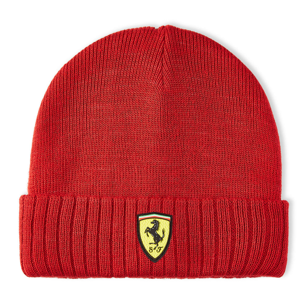 2020 Scuderia Ferrari F1 Fanwear Red Beanie Hat Adults Size Official
