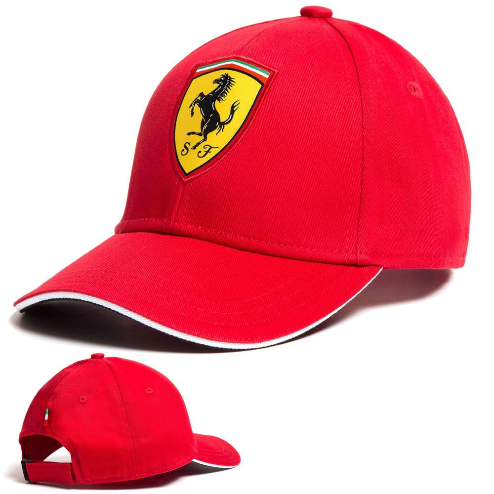 2020 Scuderia Ferrari F1 Fanwear Red Classic Baseball Cap Kids Size Official