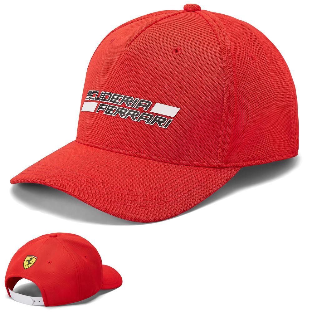 2020 Scuderia Ferrari F1 Fanwear Red Scuderia Logo Cap Adults Size Official