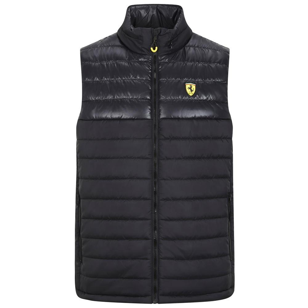 2020 Scuderia Ferrari F1 Fanwear Mens Padded Gillet Jacket Official Merchandise