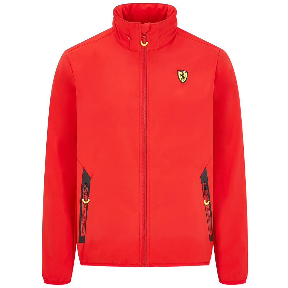 2020 Scuderia Ferrari F1 Fanwear Mens Softshell Jacket Official Merchandise