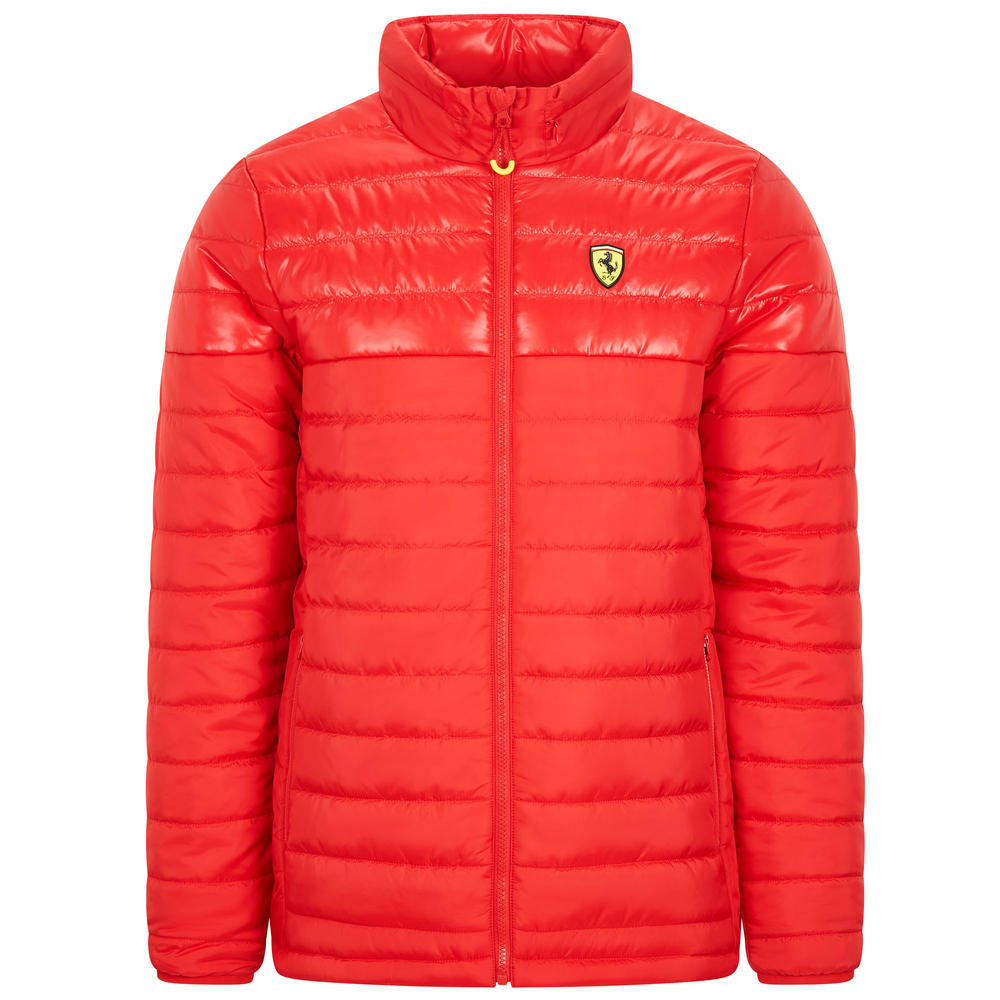 2020 Scuderia Ferrari F1 Fanwear Mens Padded Jacket Official Merchandise S-XXL