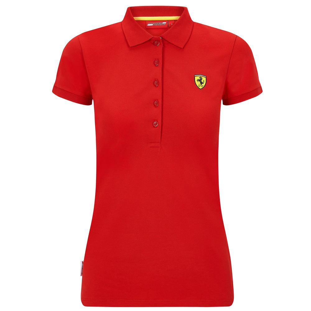 2020 Scuderia Ferrari F1 Fanwear Womens Ladies Polo Shirt Official Sizes XS-XL