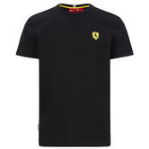 2020 Scuderia Ferrari F1 Fanwear Mens Shield T-Shirt Tee Official Merchandise