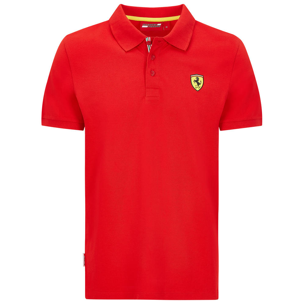 2020 Scuderia Ferrari F1 Fanwear Kids Classic Polo Shirt Tee Official Size S-XXL
