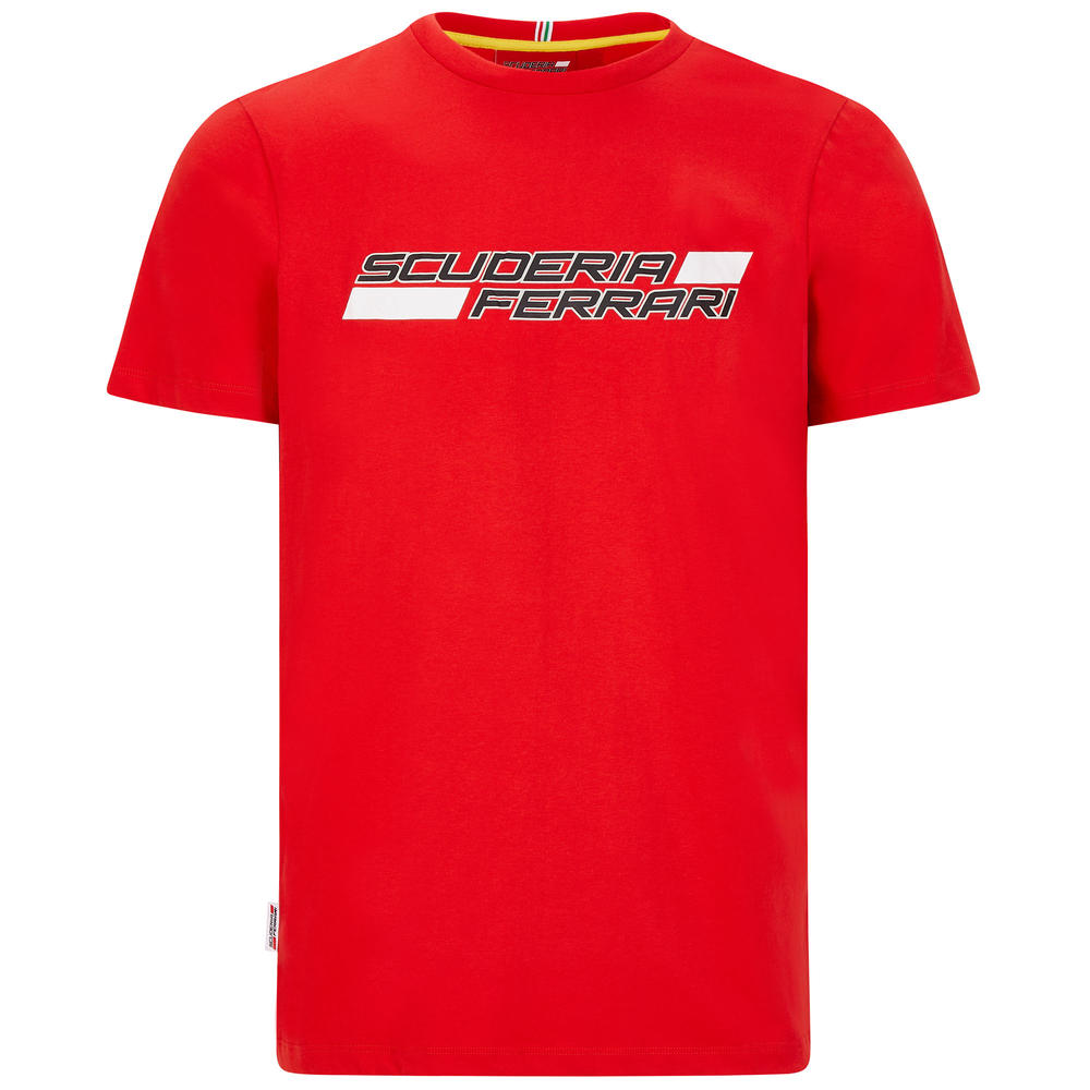 2020 Scuderia Ferrari F1 Fanwear Mens Graphic T-Shirt Official Sizes S-XXL