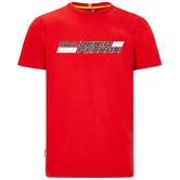 2020 Scuderia Ferrari F1 Fanwear Mens Graphic T-Shirt Official Sizes S-XXL