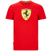 2020 Scuderia Ferrari F1 Fanwear Childrens Shield T-Shirt Official Merchandise
