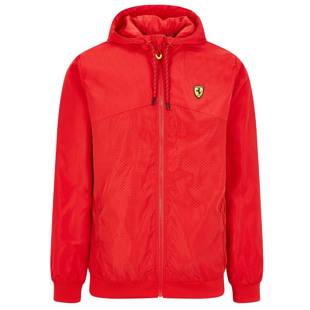 2020 Scuderia Ferrari F1 Fanwear Mens Windbreaker Jacket Official Sizes S-XXL