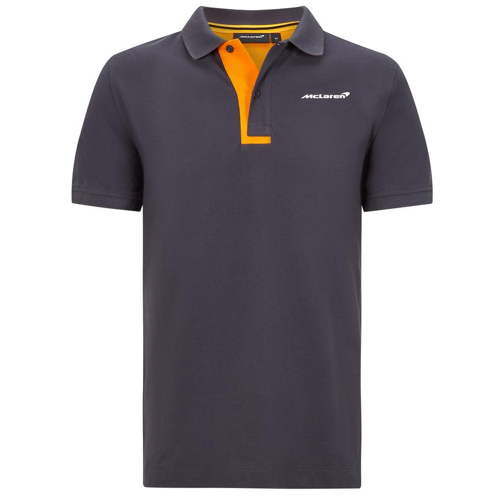 Official 2020 Mclaren F1 Team Mens Essentials Polo Shirt T-Shirt Norris Sainz