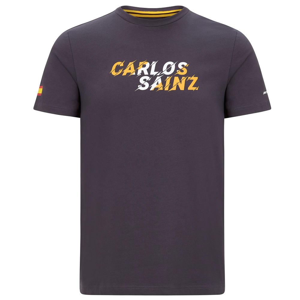 Official 2020 Mclaren F1 Team Mens Graphic T-Shirt Carlos Sainz Sizes S-XXL