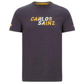 Official 2020 Mclaren F1 Team Mens Graphic T-Shirt Carlos Sainz Sizes S-XXL