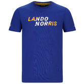 Official 2020 Mclaren F1 Team Kids Childrens T-Shirt Lando Norris Tee