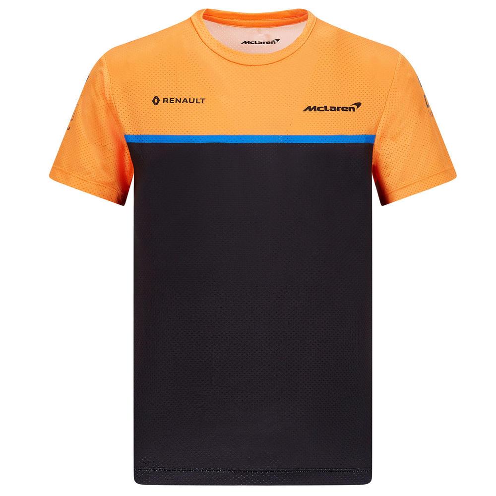 Official 2020 Mclaren F1 Team Kids Childrens Team Set Up T-Shirt Norris Sainz