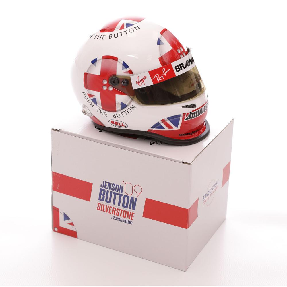F1 Driver Mini Helmets 1/2 Scale Collector Display Model Miniature Formula One
