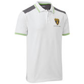 2020 Lamborghini Squadra Corse Mens Team Polo Shirt White Official Merchandise