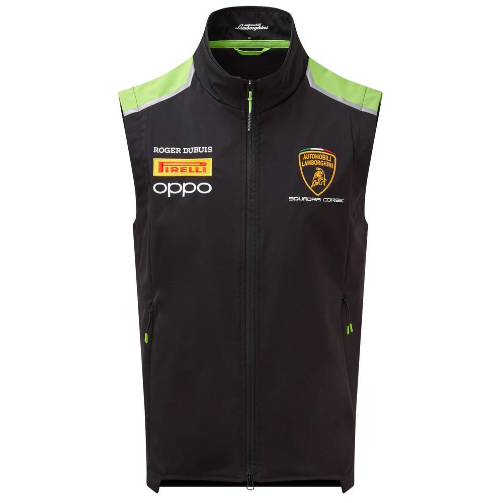 2020 Lamborghini Squadra Corse Mens Padded Vest Jacket Official Merchandise