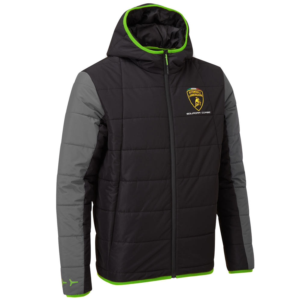 2020 Lamborghini Squadra Corse Mens Padded Travel Jacket Official Merchandise