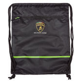 2020 Lamborghini Squadra Corse Pullbag Gym Bag Black Official Merchandise
