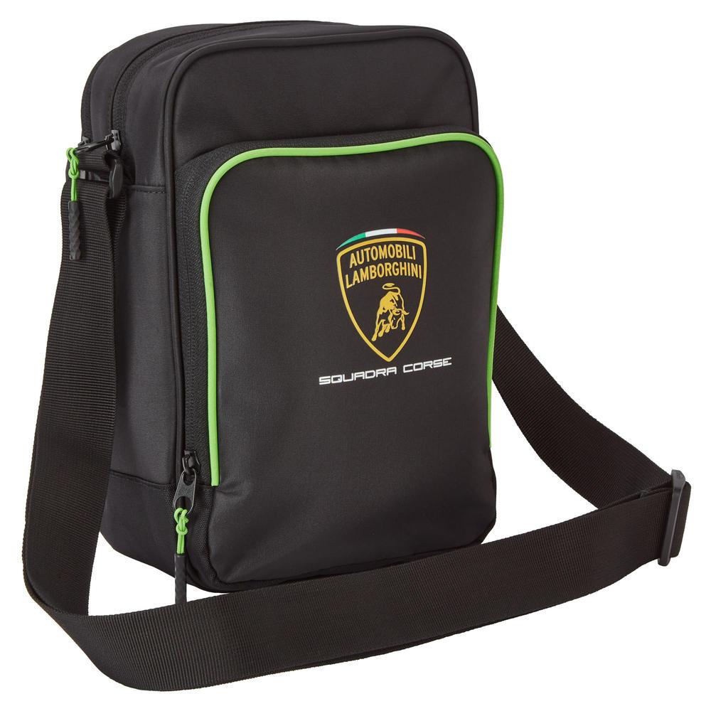 2020 Lamborghini Squadra Corse Shoulder Bag Carry All Black Official Merchandise