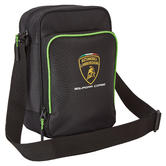 2020 Lamborghini Squadra Corse Shoulder Bag Carry All Black Official Merchandise