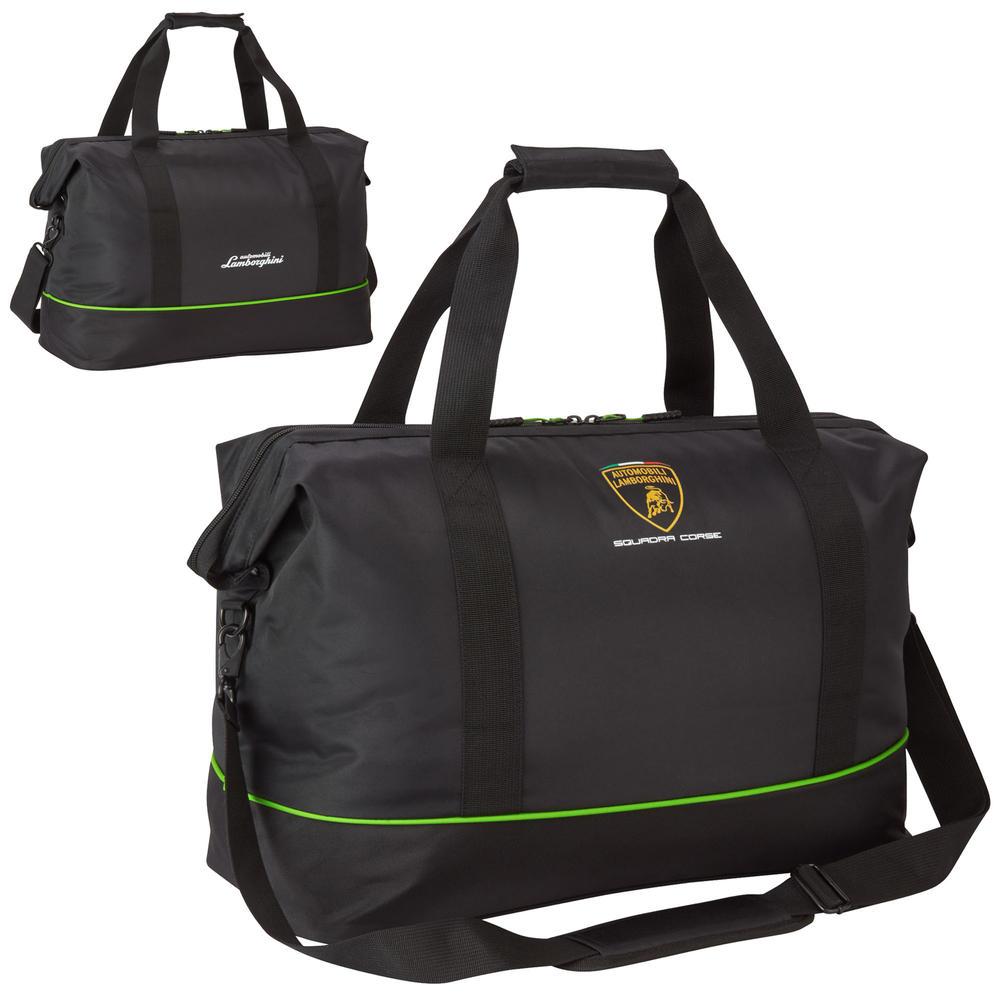 2020 Lamborghini Squadra Corse Travel Bag Carry All Black Official Merchandise