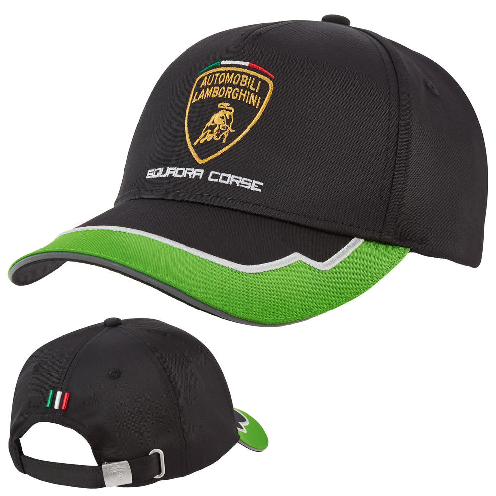 2020 Lamborghini Squadra Corse Team Baseball Cap Adults One Size Official