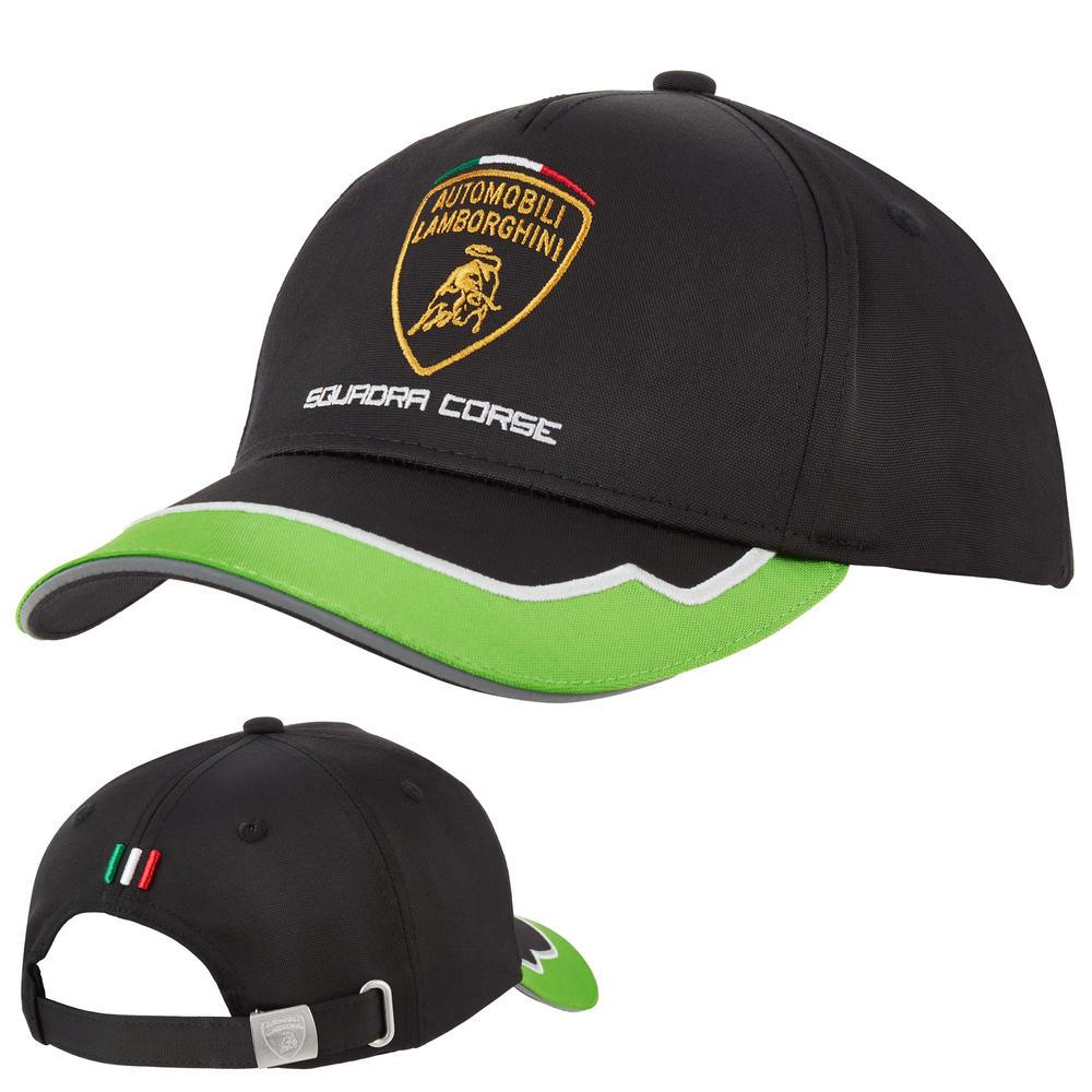 2020 Lamborghini Squadra Corse Team Baseball Cap Kids One Size Official