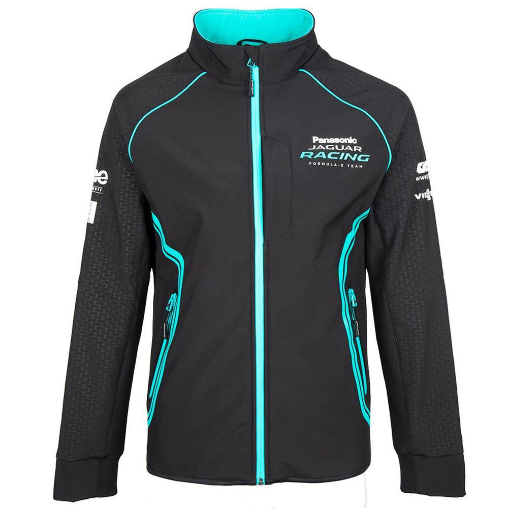 2020 Panasonic Jaguar Racing Team Mens Softshell Jacket Official Merchandise