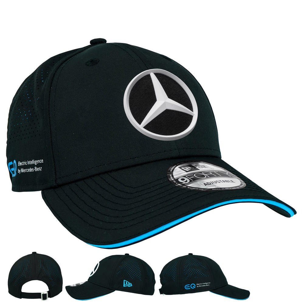 2020 Mercedes Formula E Racing Team Baseball Cap Adults Official Merchandise