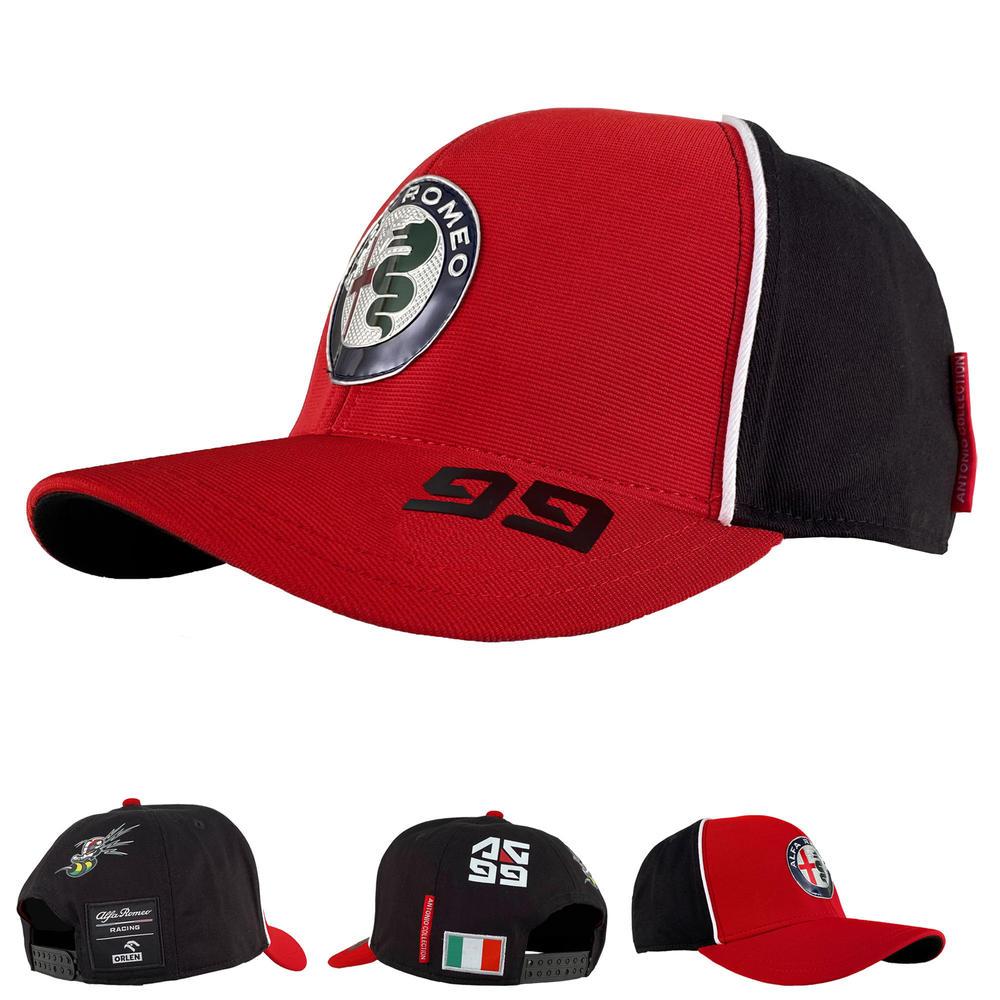 2020 Alfa Romeo Racing F1 Team Kids Baseball Driver Cap Antonio Giovinazzi