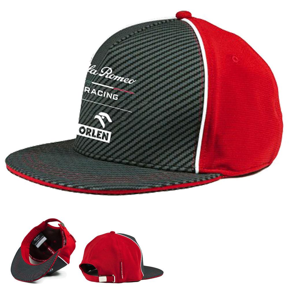 2020 Alfa Romeo Racing F1 Team Adults Size Baseball Cap Hat Official Merchandise