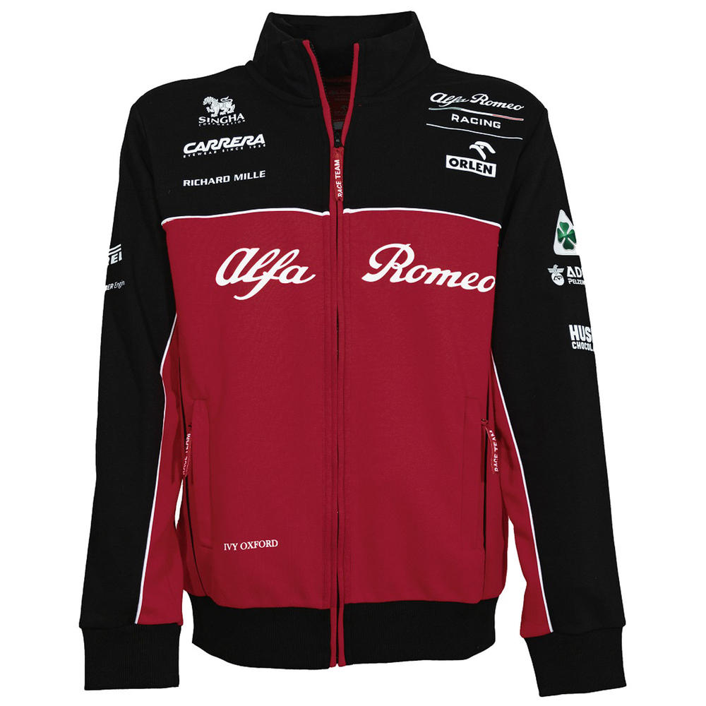 2020 Alfa Romeo Racing F1 Team Mens Sweatshirt Jumper Official Merchandise