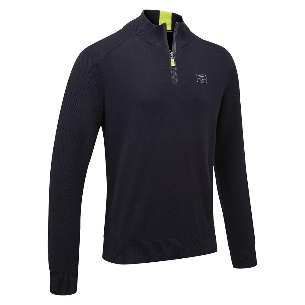 Sale! Aston Martin Racing GT Team Sweater Sweatshirt Jumper Navy in 100% Cotton