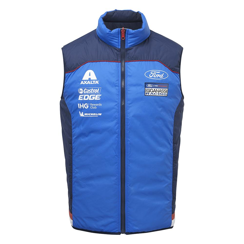 Ford Motorsport Mens Gilet Waistcoat- WEC Ford GT Ganassi Racing Team