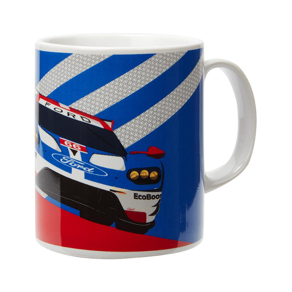Ford Motorsport Team Coffee Mug Cup WEC Ford GT Race Team Official Merchandise