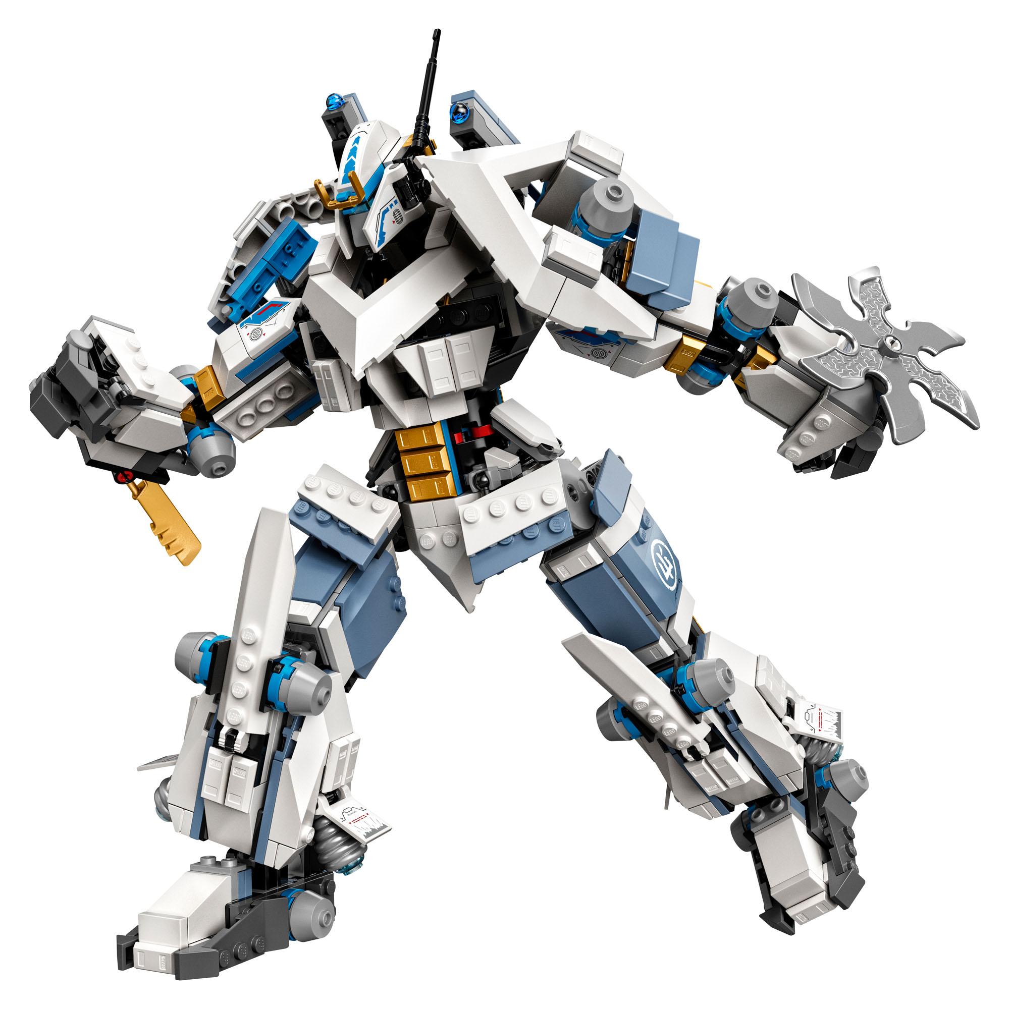 71738 LEGO NINJAGO Zane's Titan Mech Battle Set inc 840 ...